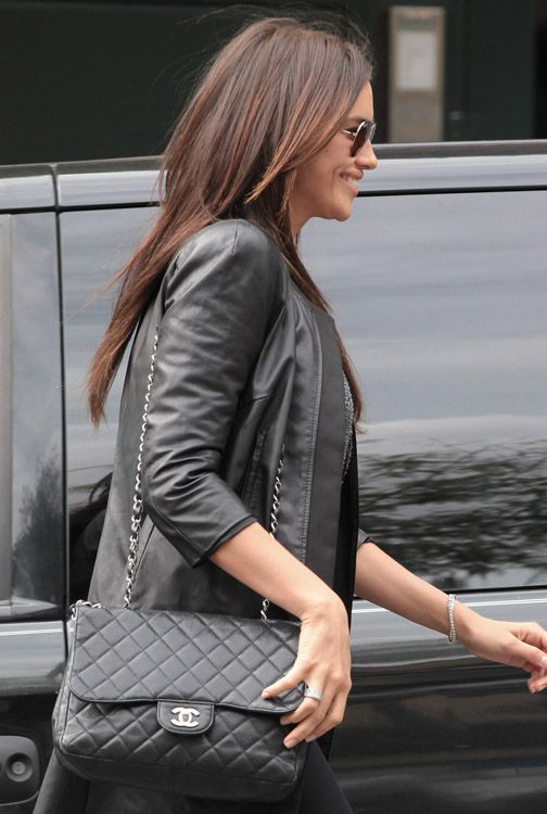 6c7e390c46a8 Celebrities and Their Chanel Bags-10 | Classic Chanel 2.55 Quilted ...