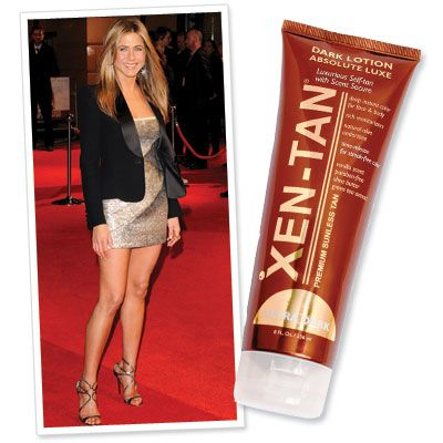 757133b435cd9 12 Easy Ways to Look Thinner By Tonight Faux-Tan A salon spray tan or a  do-it-yourself kit blends in blemishes (veins, cellulite, stretch marks, ...