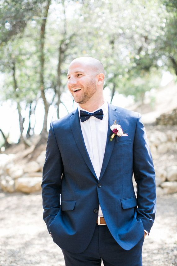 Navy grooms suit | Wedding & Party Ideas | 100 Layer Cake ...