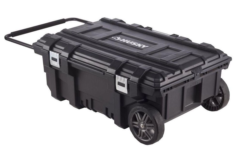 Husky 35 In Mobile Jobsite Toolbox Portable Rolling Tool