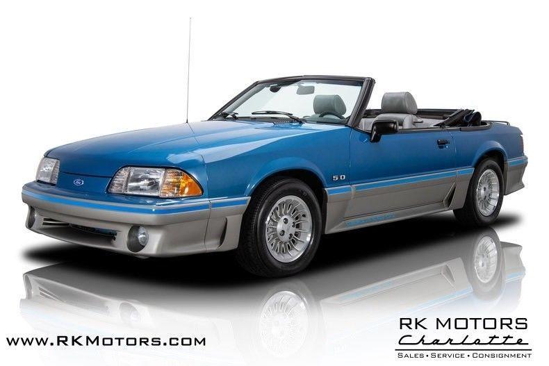 1989 Mustang Regatta Blue Paint Code