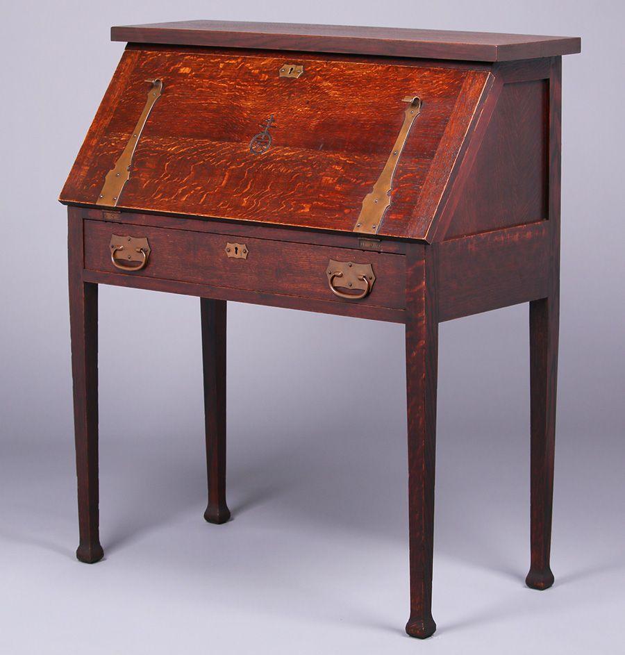Roycroft Dropfront Desk Furniture Roycroft Decor Design