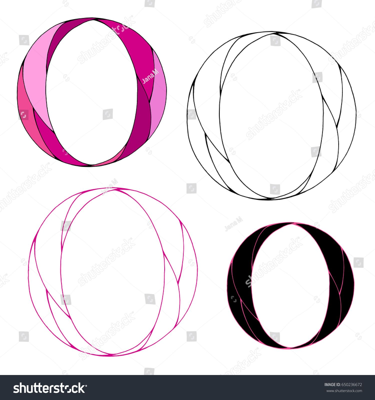 Variations Of The Letter O