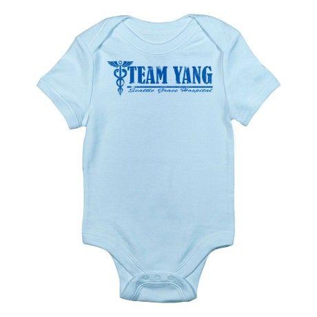 Team Yang SGH Infant Bodysuit on CafePress.com