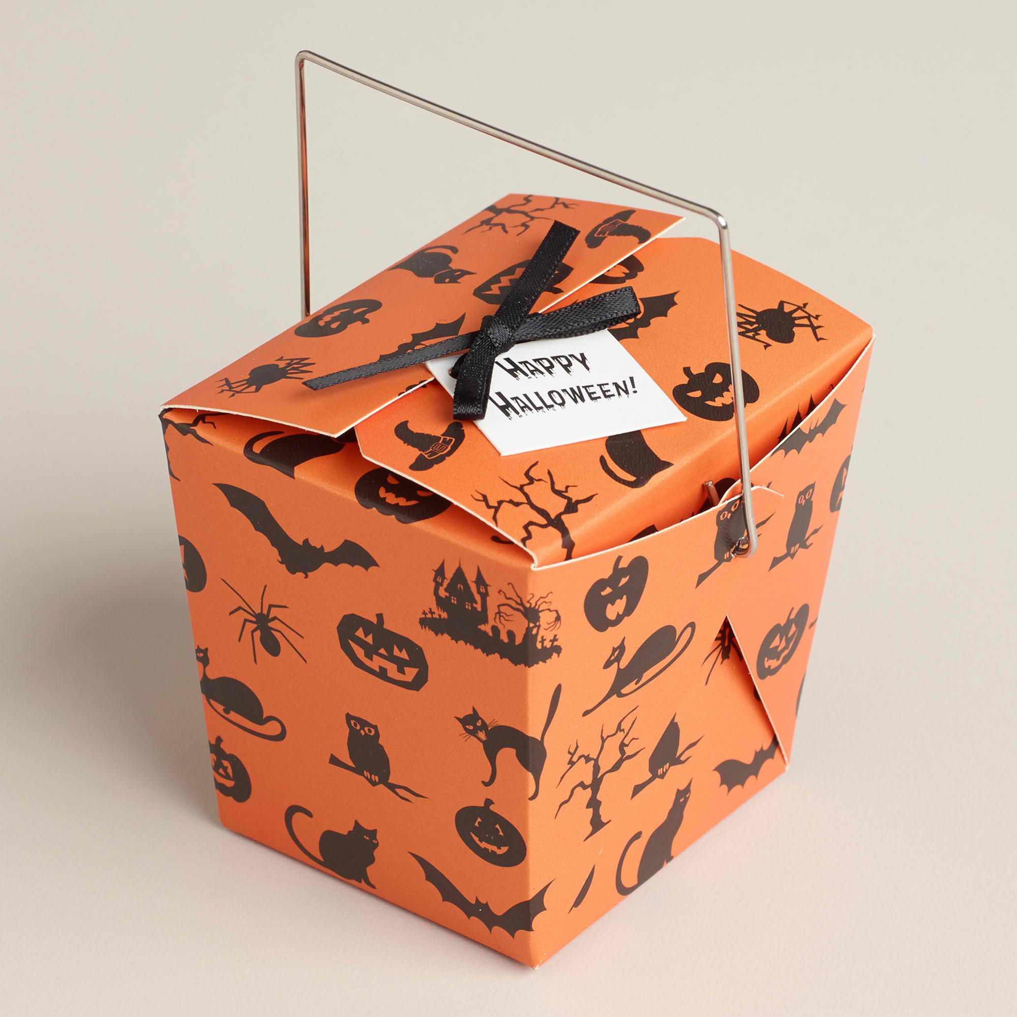 Halloween wedding/ party favor boxes | halloween or gothic wedding ...