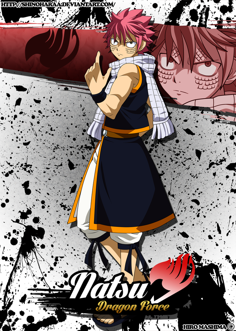 Natsu Dragneel Dragon Force By Shinoharaa Fairy Tail Dragon Slayer Fairy Tail Photos Fairy Tail Pictures