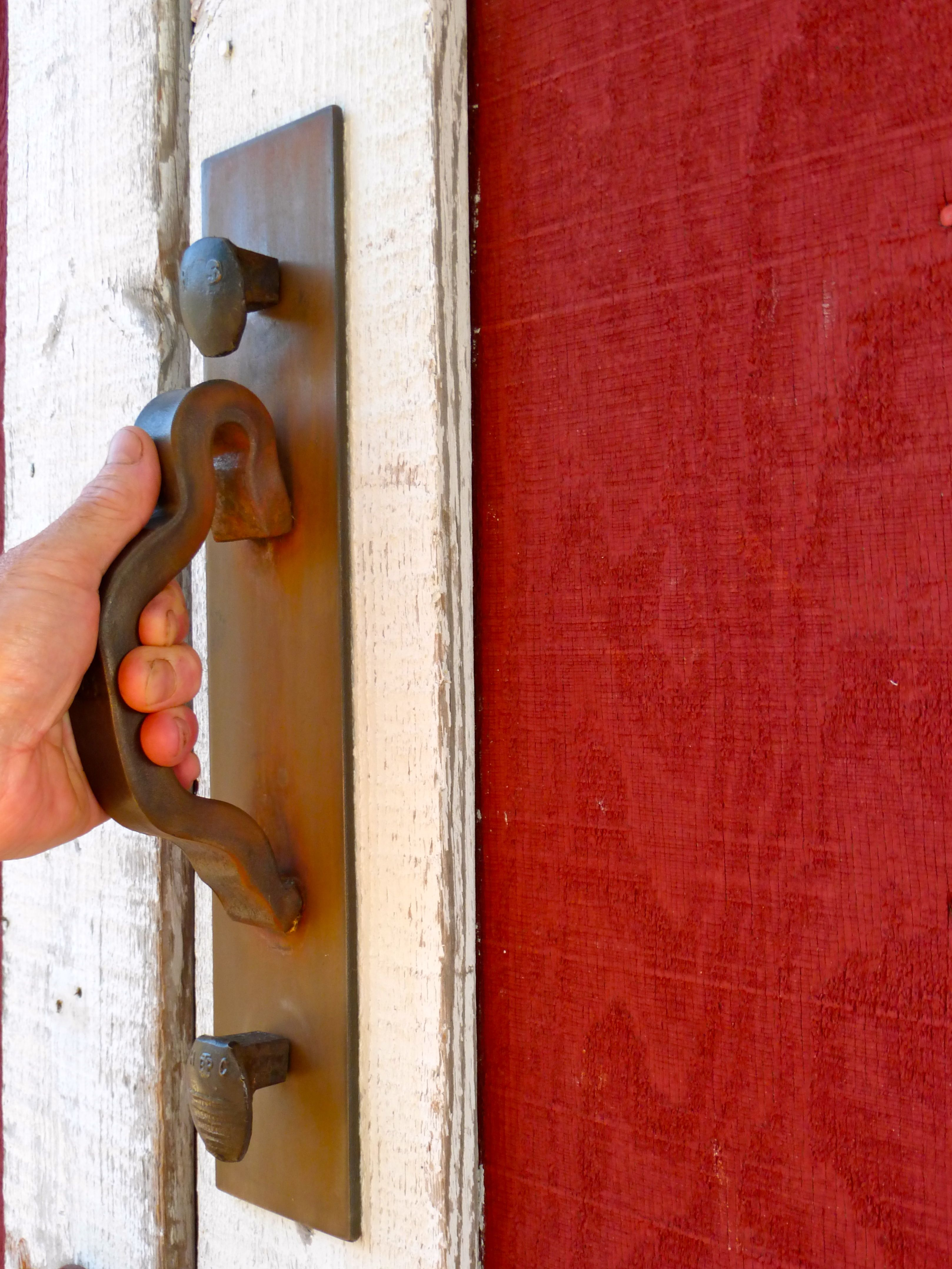 RR Spike \u0026 Rail Anchor Door Pull & RR Spike \u0026 Rail Anchor Door Pull | Color Cues and Curb Appeal ... Pezcame.Com