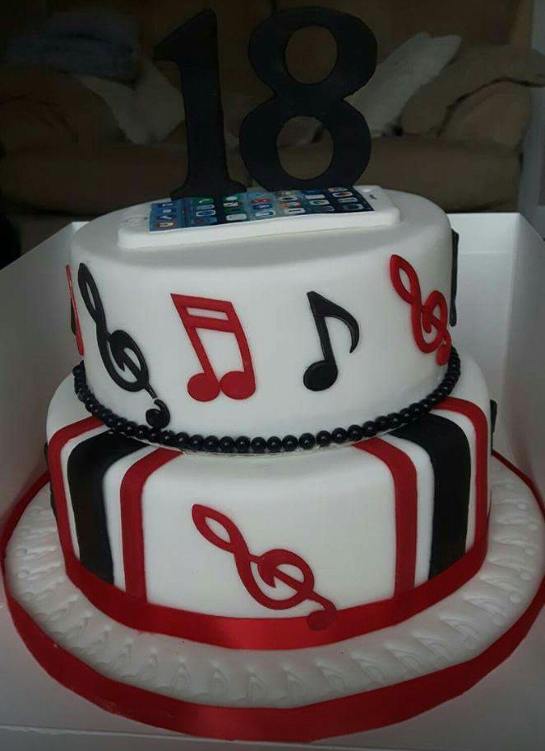 Iphone Birthday Cake Birthday Cakes Pinterest Birthday Cakes