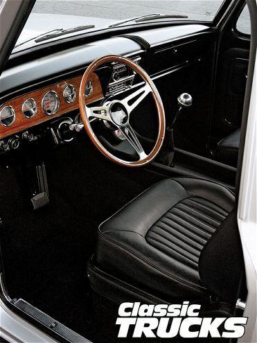 1968 ford f100 interior best ever seen aftermarket steering wheel black interior truck. Black Bedroom Furniture Sets. Home Design Ideas