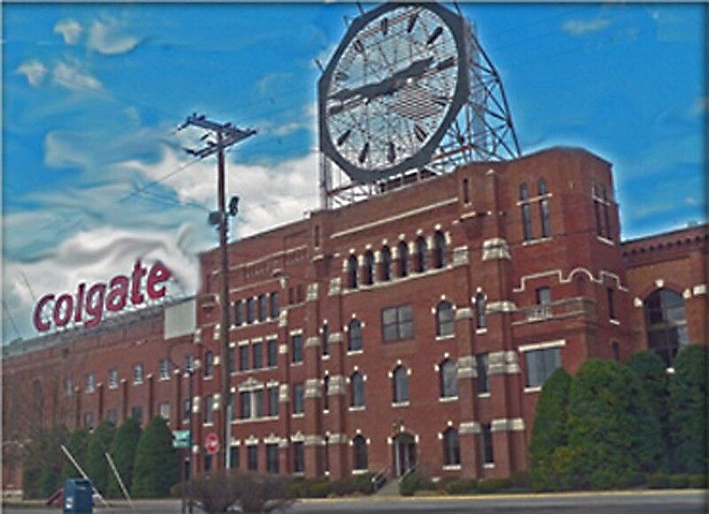 Colgate Factory In Jeffersonville In Across The Ohio River From