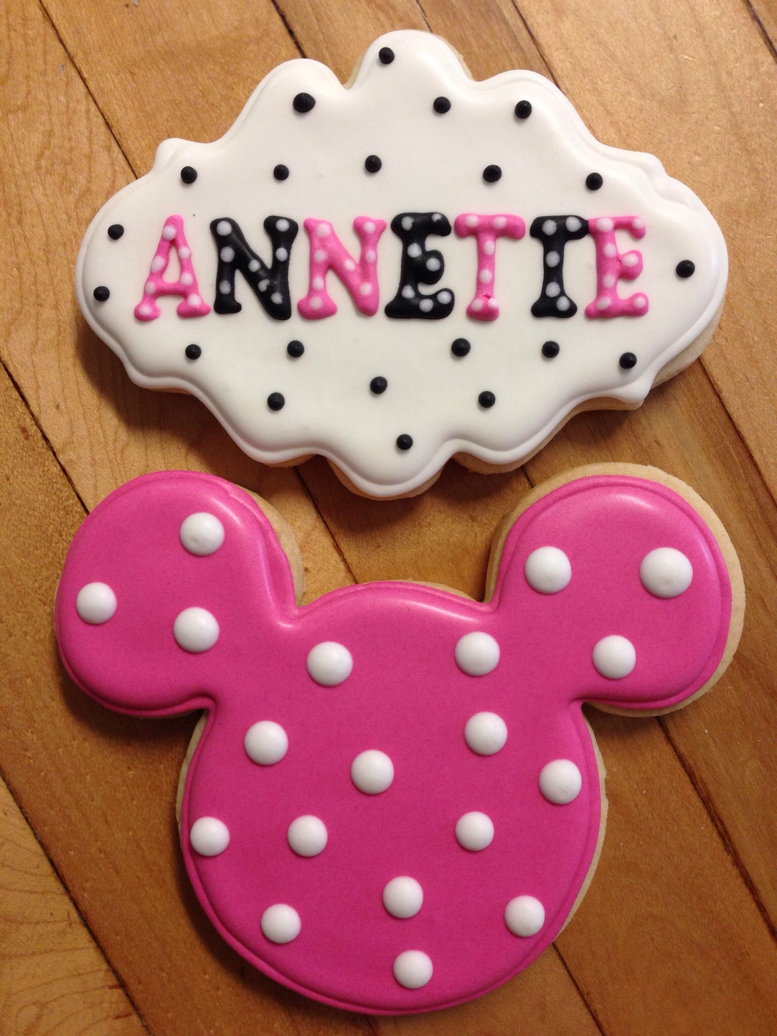 Kids Party cookie favors