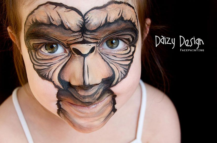New Zealand-Based Artist Turns Her Kids' Faces Into Fantasy Creatures