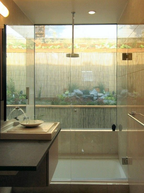 Ambientes Decorados No Estilo Oriental E Japonês. Asian BathroomBathroom  IdeasJapanese ...
