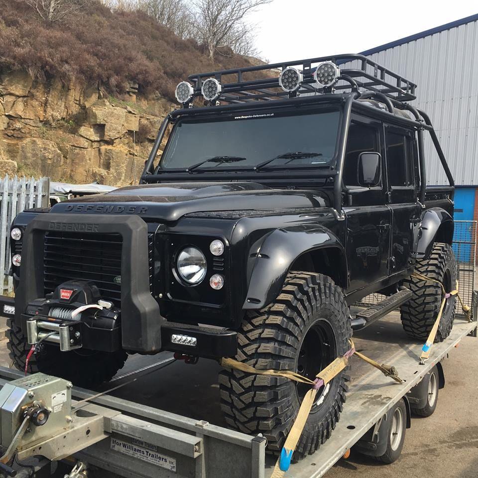 All Black Land Rover Defender Land Rover Land Rover Defender 110