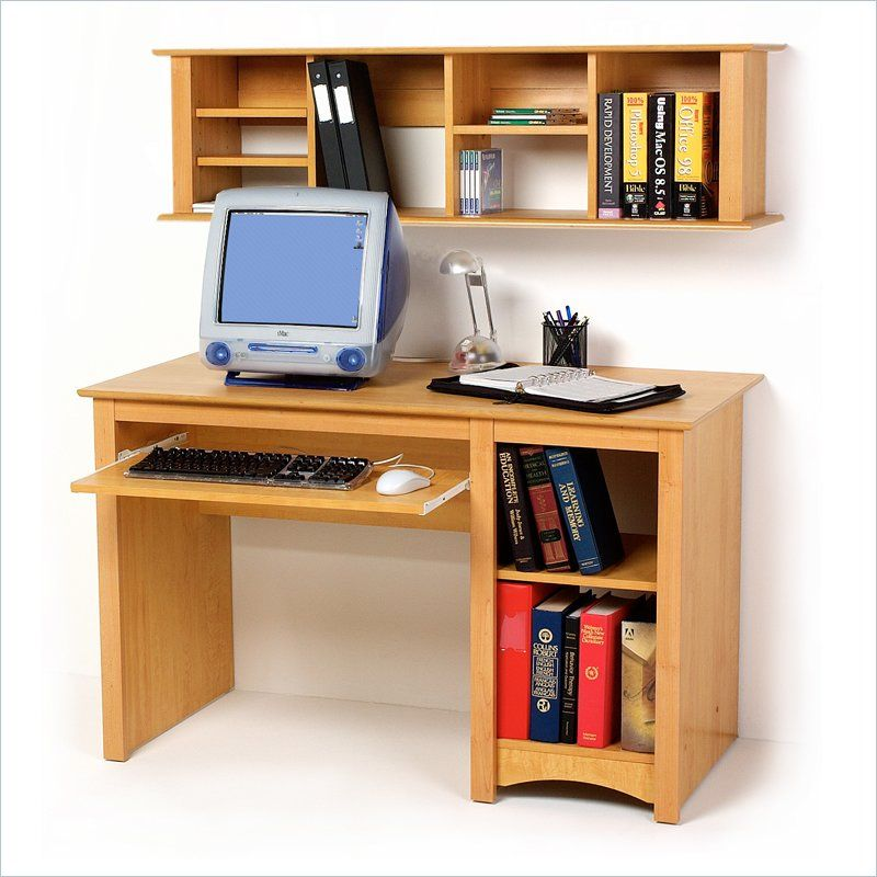 small wood hutch elegant best with magazine corner cabinet desk oak real computer plans