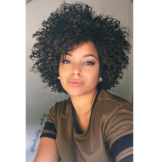 Teamnatural On Instagram Nice Shape Actually Ashly Short Natural Curly Hair Short Natural Hair Styles Curly Hair Styles