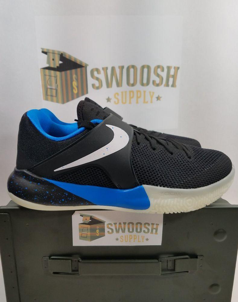dc37e6c4e3a Nike Zoom Live PE Zach Lavine Black Whtie Blue 910573-014 sz 8 Dunk Contest   Nike  BasketballShoes
