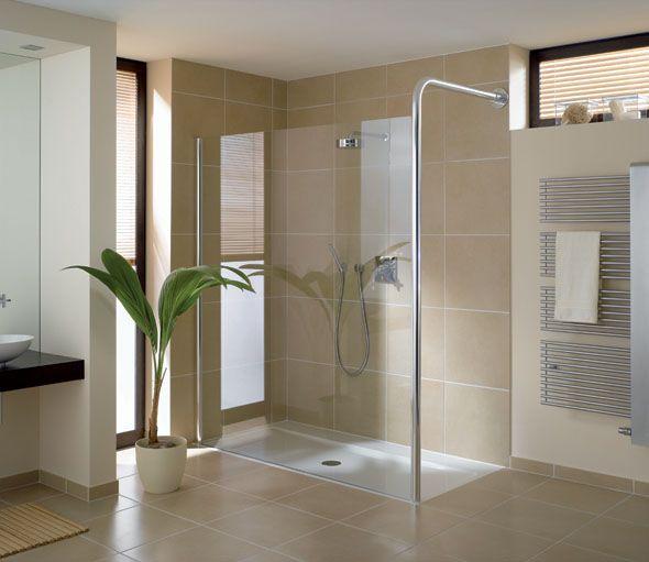 moderne Duschkabine