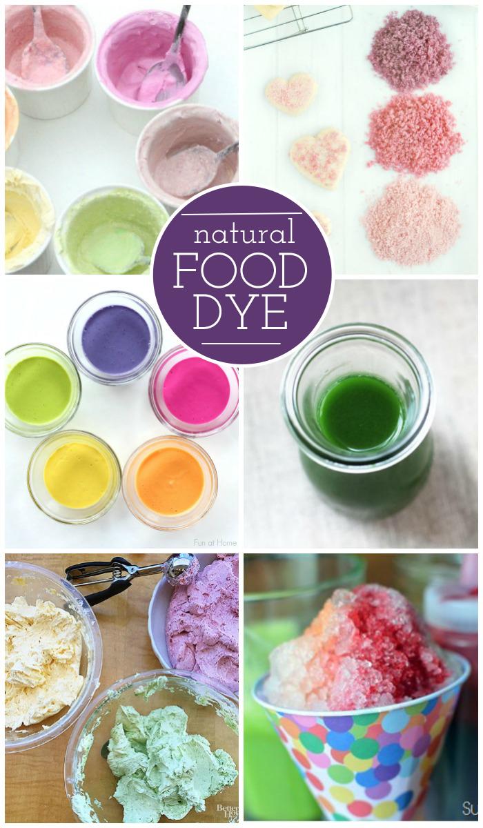 14 Natural Food Dye Alternatieven