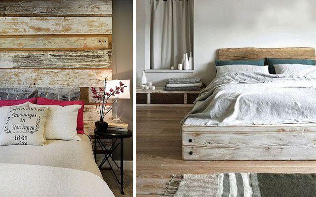 Decoración de dormitorios con cabeceros de madera | Proyectos que ...