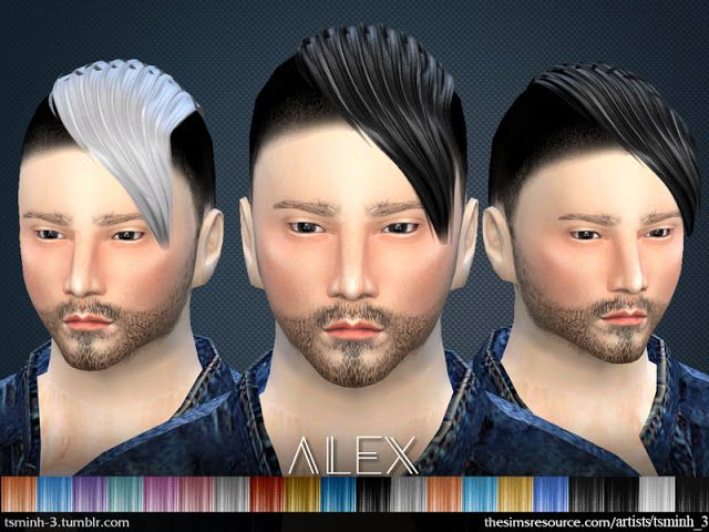 Sims 4 CC's - The Best: Hair by tsminh_3
