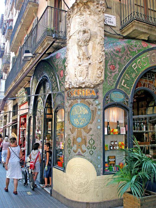 Tienda De Barcelona La Casa Escriba Shopping In Barcelona Barcelona Catalonia Barcelona Travel