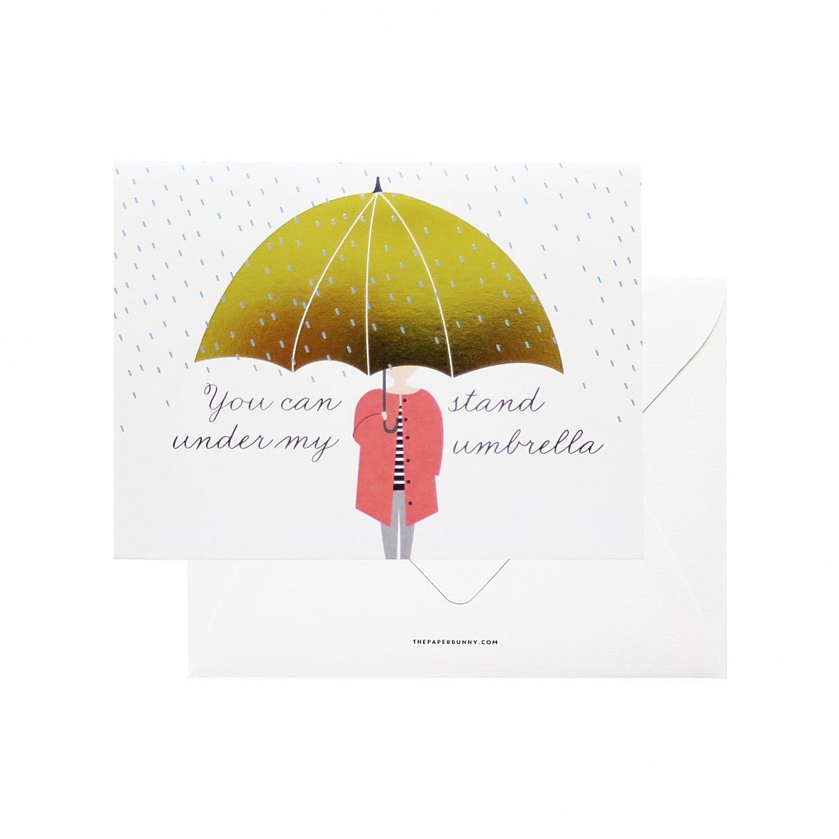 Under My Umbrella Card