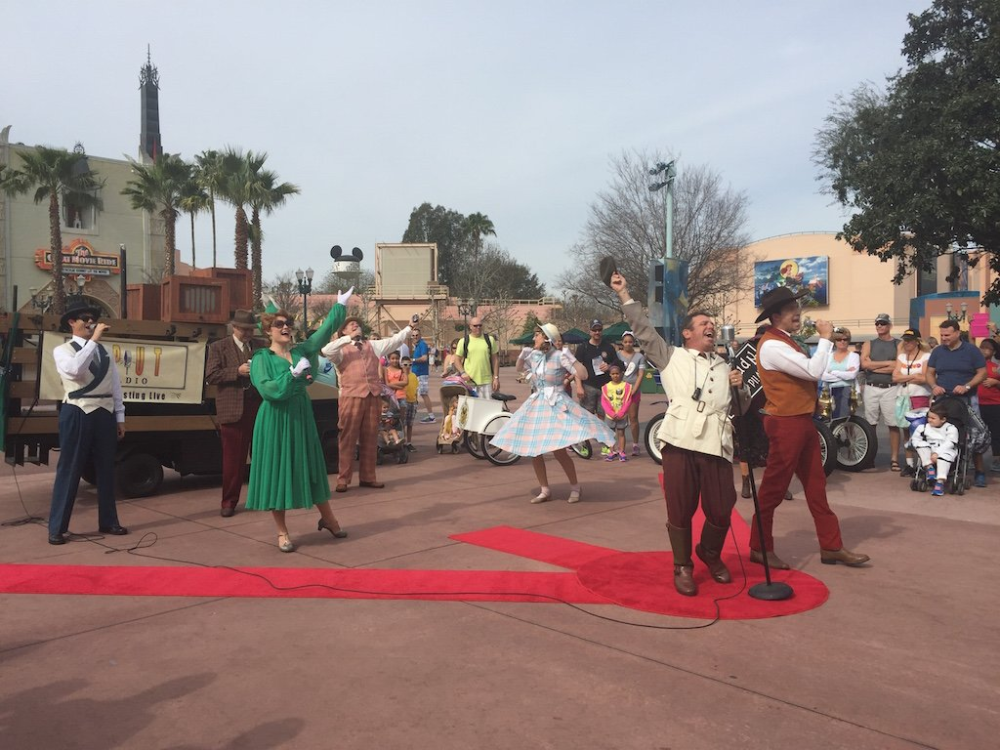 Some Walt Disney World Entertainment Cast Members