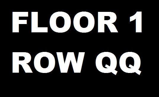 142.95 Def Leppard SINGLE Concert Ticket Manchester NH SNHU 4/8/17 FL 1 Row QQ 17th Row #DefLeppard #Poison #Tesla #ConcertTicket #SNHU #FloorSeat