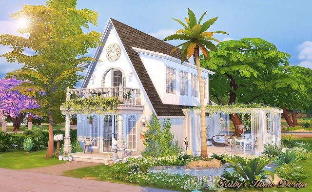 Sims 4 CCu0027s   The Best: House By Rubyu0027s Home Design