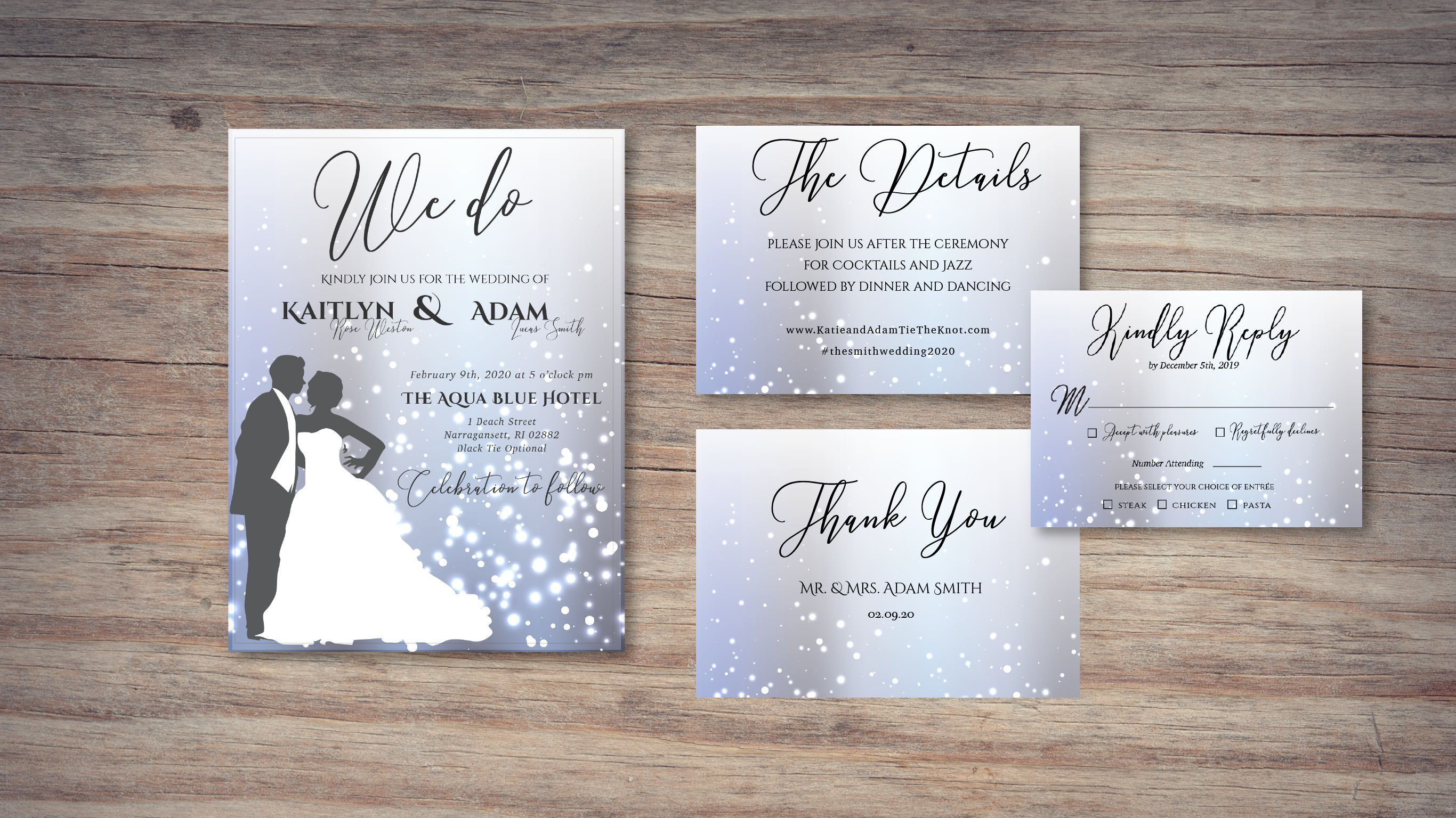 Wedding Invitation Sparkle, Sparkle Wedding, Sparkle Wedding ...