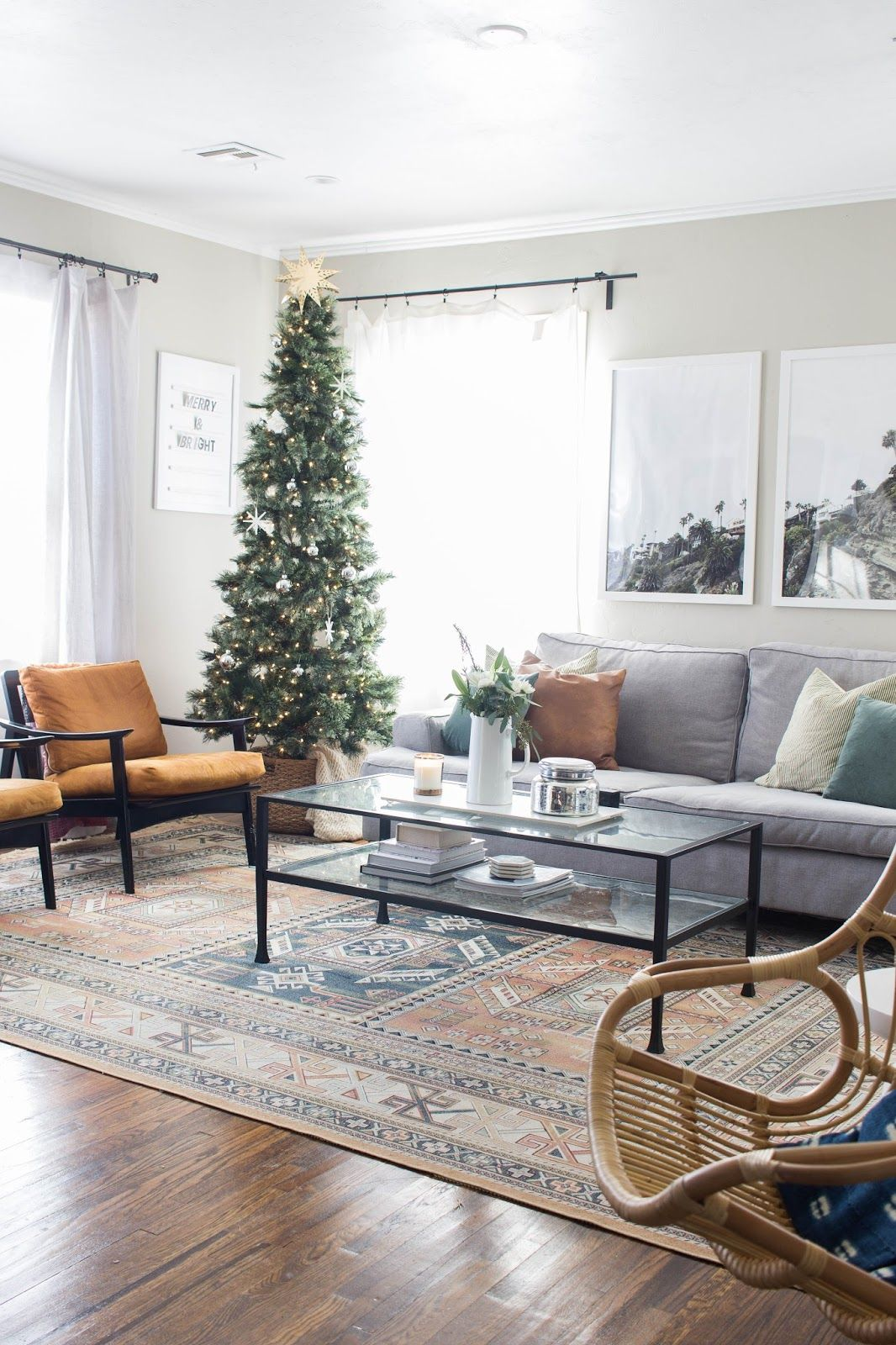 Our Christmas Home Tour | Simple christmas, Christmas tree and ...