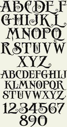 halloween font alphabet , Cerca con Google