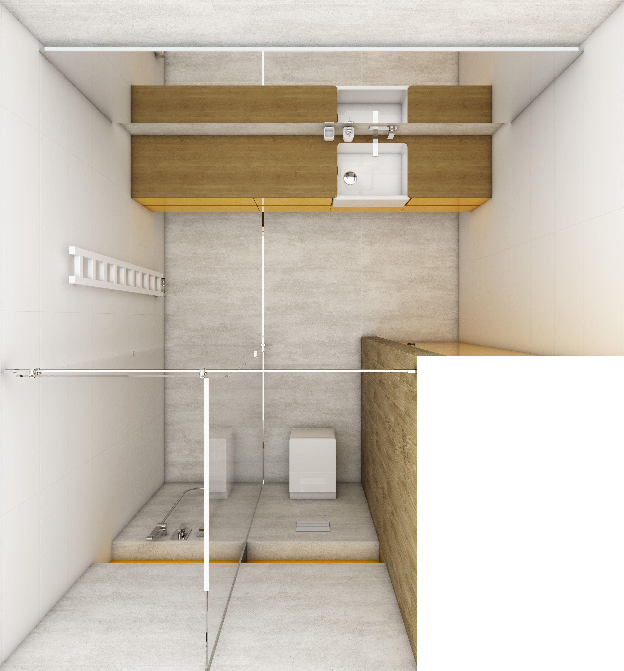 Modular Bathroom - Floor Plan