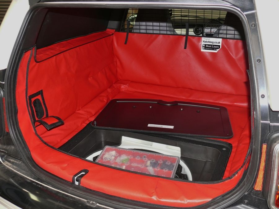 Mini Clubvan Hatchbag Boot Liner With Access Has The Option Of