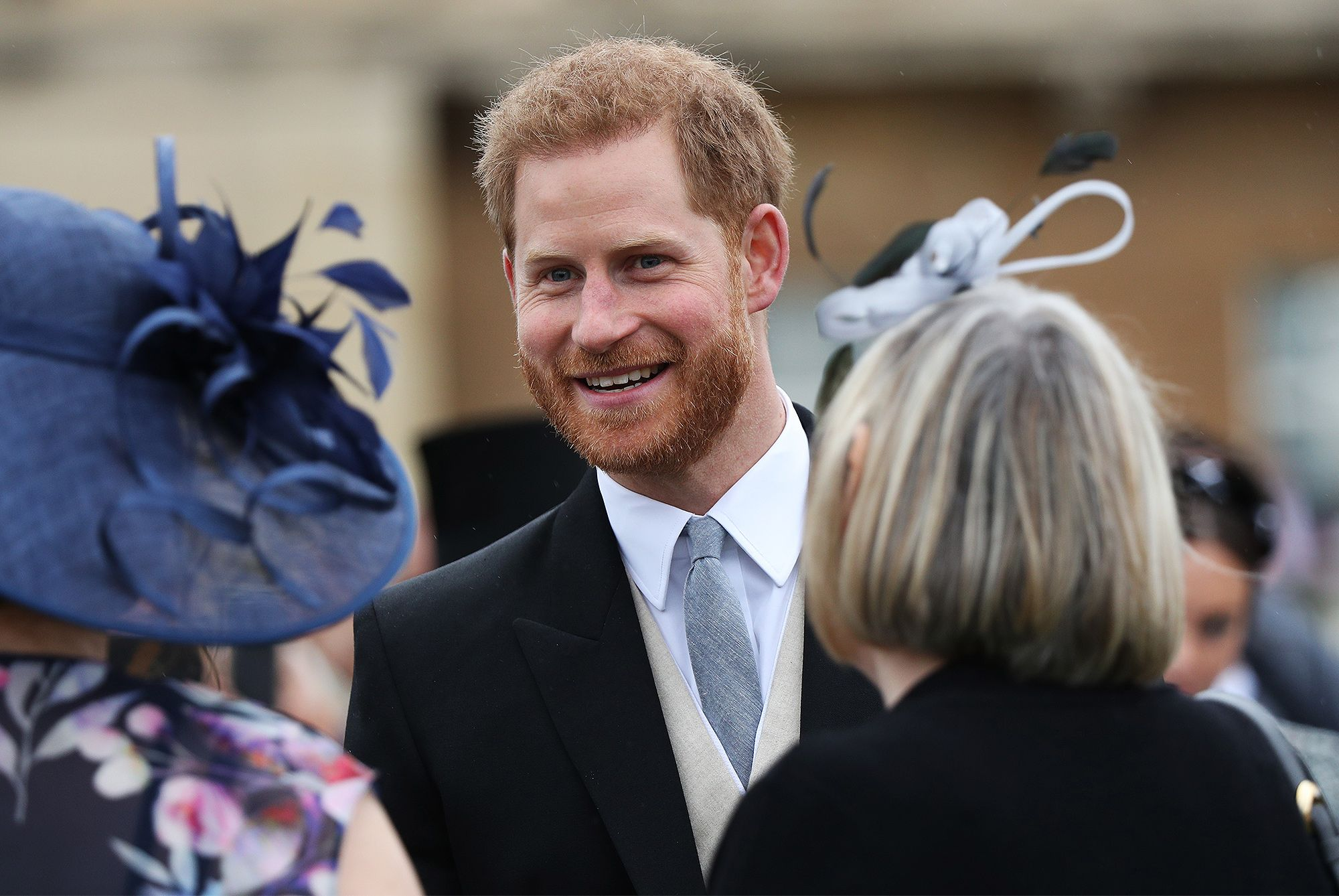 Prince Harry S Snuck In A Sweet Nod To Wife Meghan Markle At Buckingham Palace Garden Party Prince Harry Buckingham Palace Garden Party Buckingham Palace Gardens