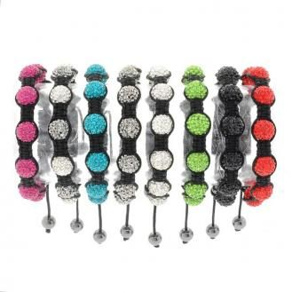 Bobby Schandra 7 Ball Bracelets $49.95  http://nchantment.com/a/trendygirlshoes    Sparkling accessories is sure to have something for every outfit or every occasion. Beautiful spring and summer colors...the possibilities are only as limited as your sense of style. These bracelets go from day to night, work to weekend, and back again with elegance and sophistication. It's love at first sight. Made with fine crystals and stones.