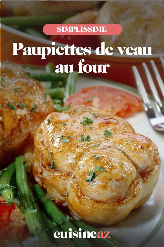 Cuisson Paupiette De Porc Au Four Simple : cuisson, paupiette, simple, Paupiettes, Recette, Paupiette,, Paupiette