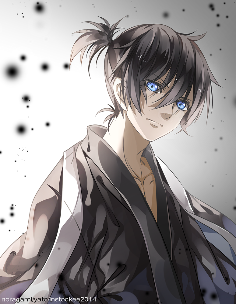 Yato (by INstockee on deviantART) Noragami anime