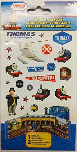 Thomas and Friends Sticker Play Scene *** Be sure to check out this awesome product.