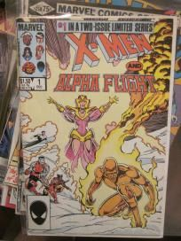 X-Men and ALpha Flight #1 NM/M Arthur Adams Marvel Comics no slice free shipping