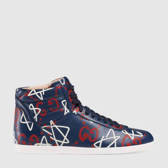eafcc44a9b6 Gucci Sneaker alta da donna GucciGhost Gucci Sneakers