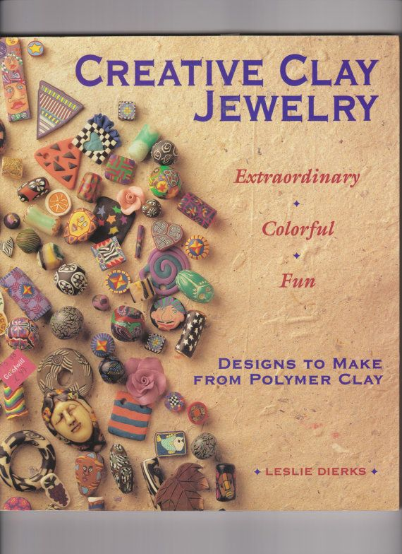 Creative Clay Jewelry by goodiesgaloreforyou on Etsy, $4.50