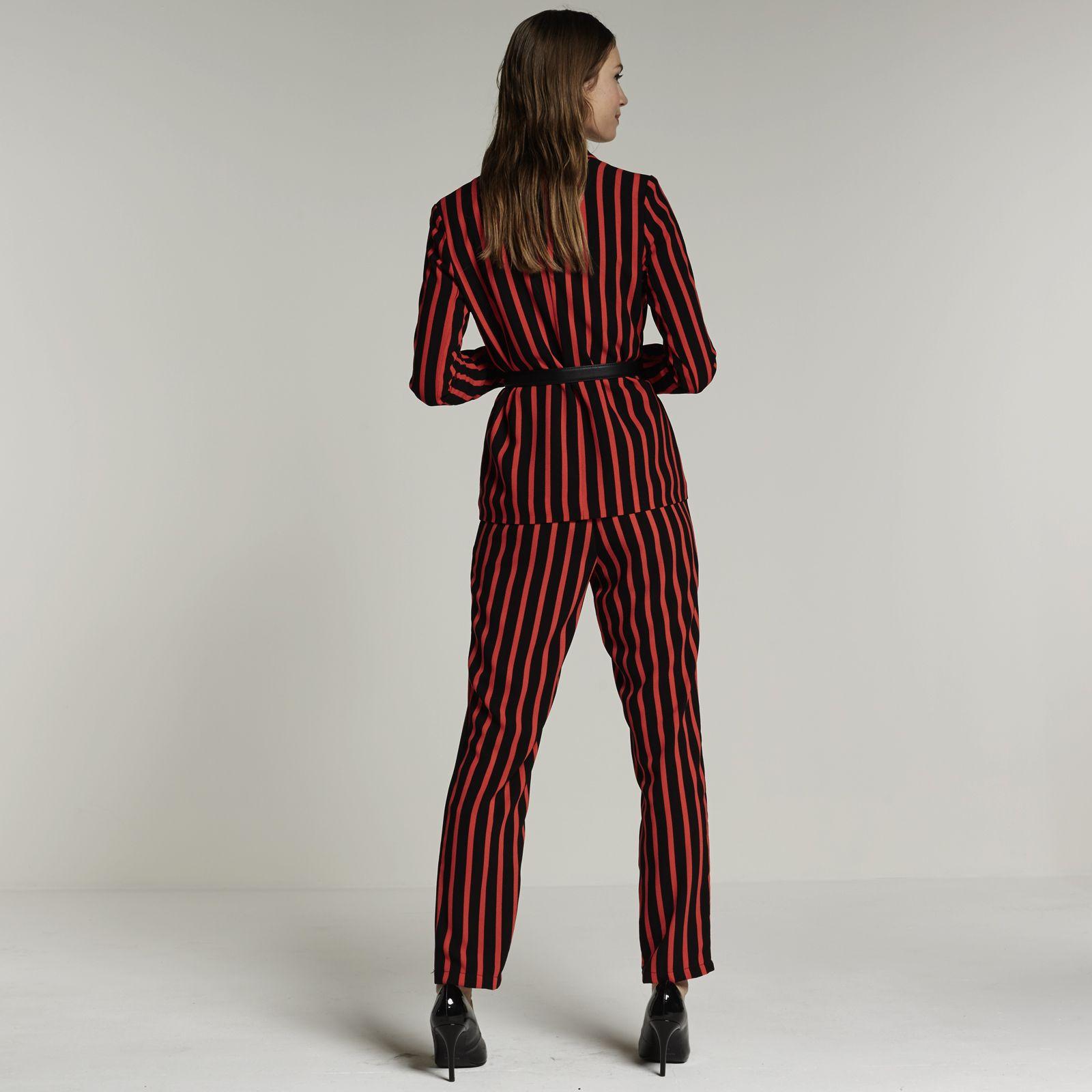 fabrieksoutlets enorme korting 2020 VERO MODA blazer en broek met streepdessin? Bestel nu bij ...