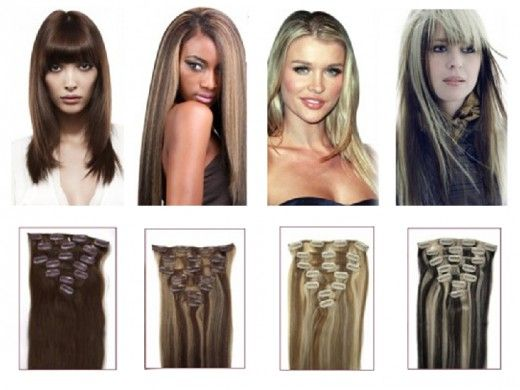 A Guide On How To Fix Clip In Hair Extensions