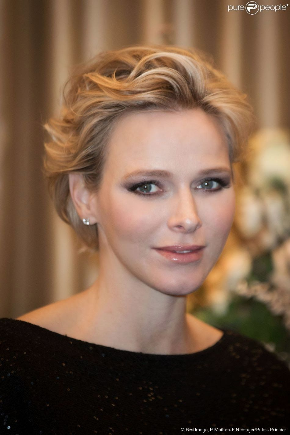 princess charlene of monaco received the blue ribbon award princess charlene of monaco attends. Black Bedroom Furniture Sets. Home Design Ideas