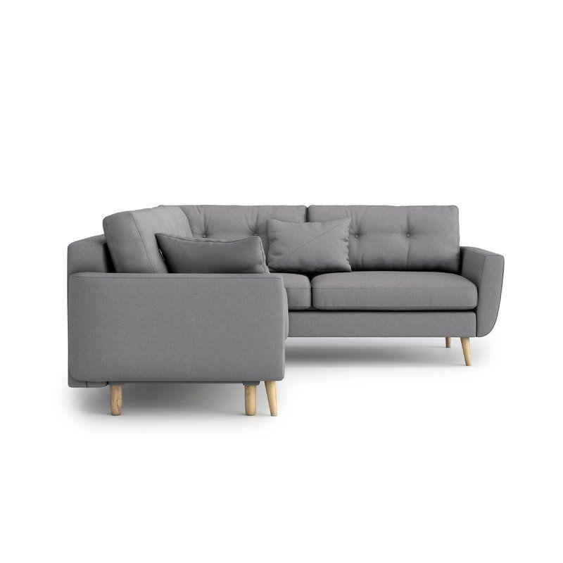 Stcyr Sleeper Corner Sofa In 2020 Corner Sofa Sofa Luxury Fabric Sofas