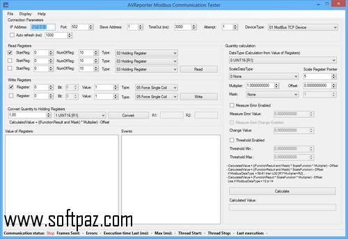 Download Avreporter Modbus Communication Tester Windows Version You Can Get It From Softpaz Https Www Soft Communication Windows Software Windows Versions