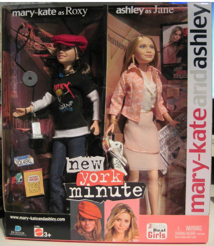 Mary Kate Ashley Olsen New York Minute Dolls..New In The Box #DollswithClothingAccessories