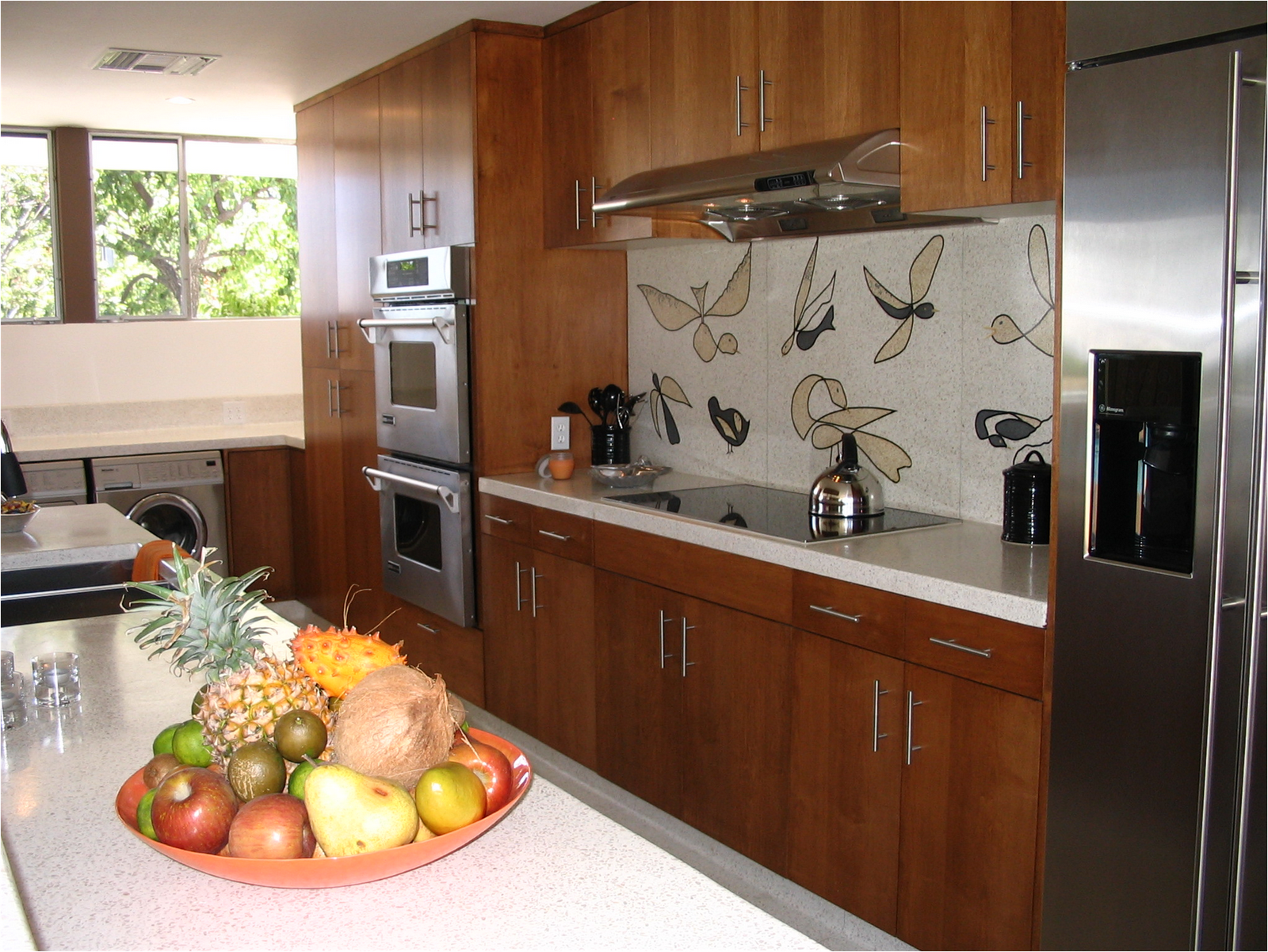 Best Cheerful Mid Century Modern Kitchen On Kitchen For Mid 400 x 300